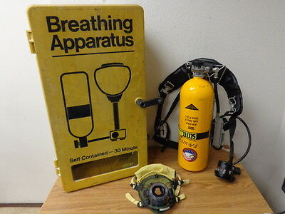 SCOTT Self Contained 30 Minute Breathing Apparatus Kit  w/Facepiece Assembly