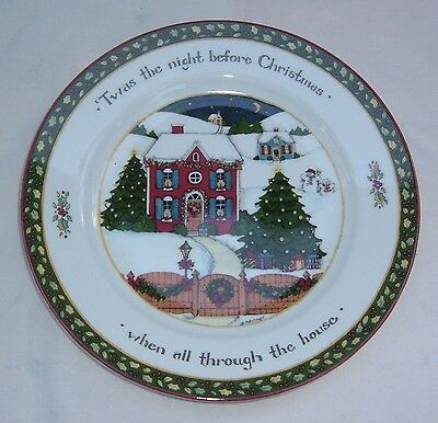 Lot Of 5 Susan Winget Dinner Plates A Christmas Story International China Nice!