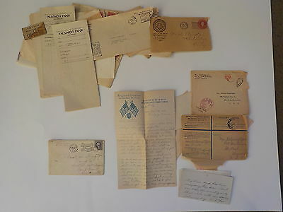 13 WWI Letters 55th Infantry AEF Documents Papers St. Paul Minnesota WW1 Lot WW