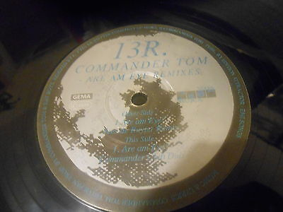 Commander Tom ‎– Are Am Eye? (Remixes)(NOOM)(HARD TRANCE)(VG+ COND)