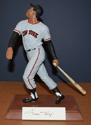 Willie Mays Autographed Salvino Limited Edition Figurine SF Giants 57/1500