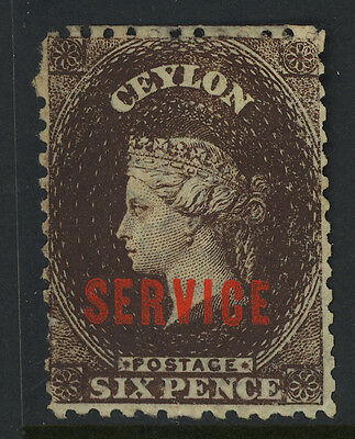 Ceylon Mint #o6 Ng, Nicely Centered
