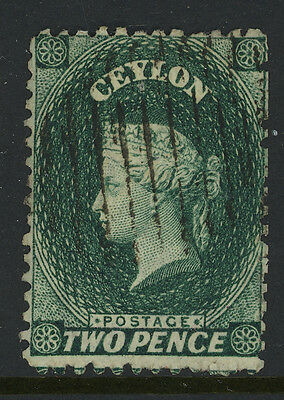 Ceylon Used #48 Nicely Centered