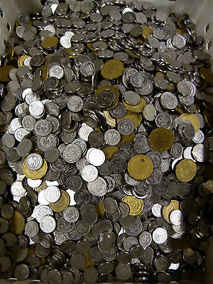 5 Pounds  10¢ And 20¢ And 50¢ Centavo Mexican Coin Mix