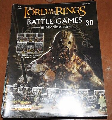Warhammer Lord Of The Rings Battle Games In Middle Earth 30, Magazine
