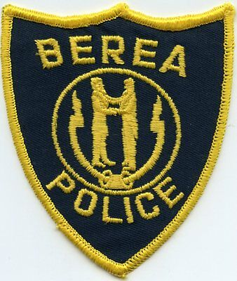 old vintage BEREA KENTUCKY KY state seal POLICE PATCH
