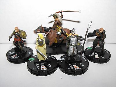 Heroclix Lord Of The Rings Rohirim Lot With Eomer And Steed