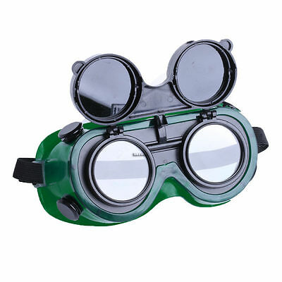 Cutting Grinding Welding Goggles With Flip Up Eye Glasses Welder Safety Protect