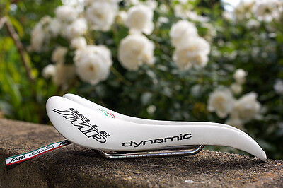 Selle SMP Dynamic Saddle - white  'as new' condition  Hand crafted in Italy