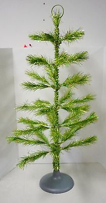 """Christmas Artificial Tree (green) 36"""" High by 16"""" wide (pre-owned)"""
