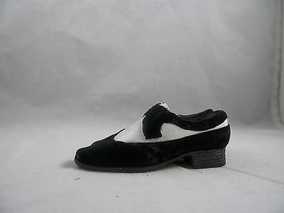 Mens Black and White Dress Shoes Christmas Tree Ornament new holiday