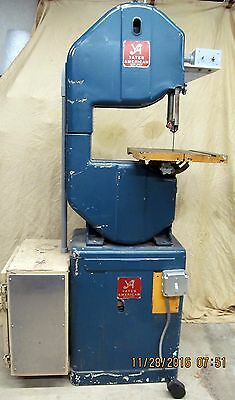 Yates American Bandsaw Variable speed 220V Single phase.