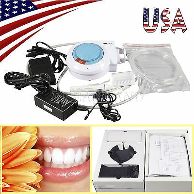USA Stock Dental Ultrasonic Piezo Scaler with Handpiece Tips fit EMS/WOODPECKER