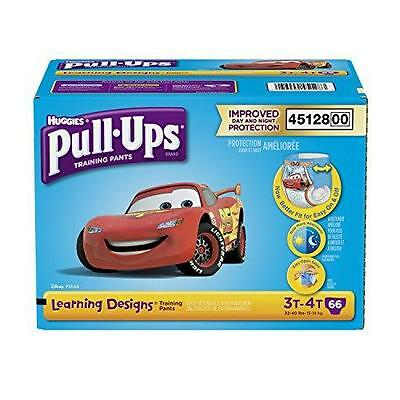 Pull-Ups Learning Designs Training Pants for Boys, Size 3T-4T, 66 Count