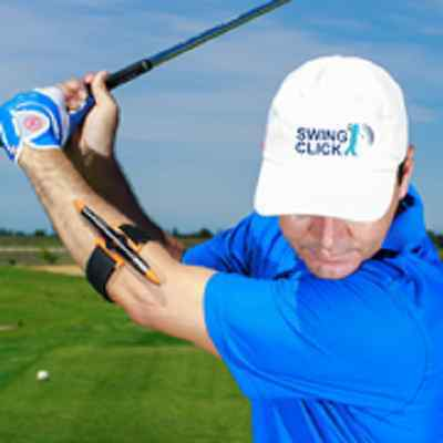 SWINGCLICK PLUS - THE Ultimate Golf Swing Training AID