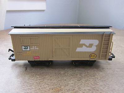 New Bright Santa Fe Gold Rush Express G Scale Freight Car