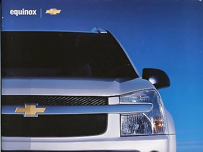 2005 Chevy Chevrolet Uplander Suv Dealer Sales Brochure Literature