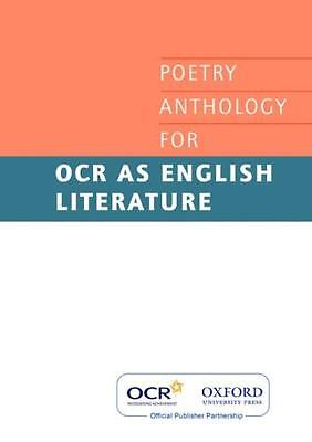 AS Poetry Anthology for OCR 2008-2012 (Ocr a Level English) (Paperback), Variou.