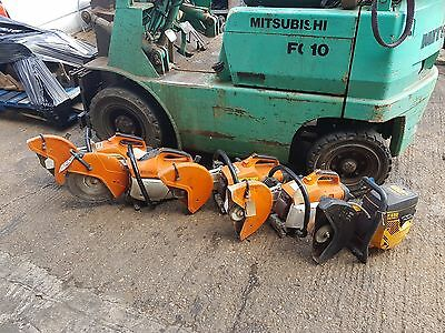 Partner K650 petrol saw disc cutter consaw grinder. Also available stihl ts410