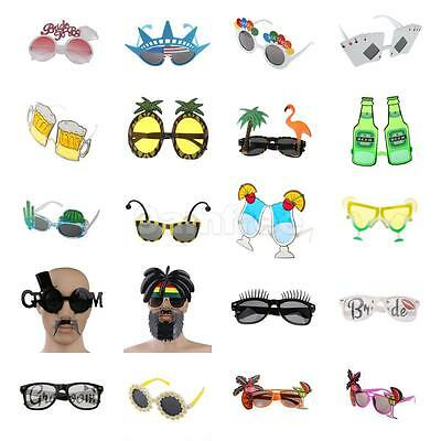 Novelty BEACH Xmas PARTY Funny Hawaiian Theme Hens Stag Fancy Sunglasses Glasses
