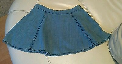 Girls denim skirt age 5 yrs, old navy