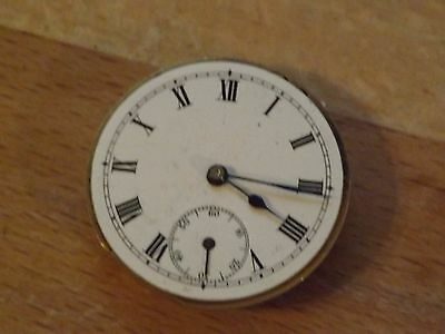 Good Antique Gents Pocket Watch Movement