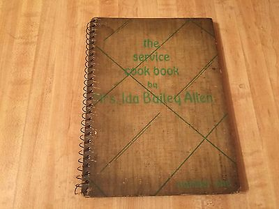 The Service Cook Book by Mrs. Ida Bailey Allen cookbook F.W. Woolworth Co. 1933