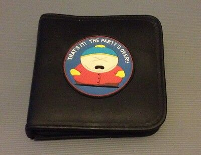 1998 South Park 'that's It! Party's Over!' 24 CD/DVD Carry Case Folder Cartman