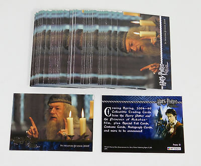 Lot of (50) 2004 Artbox Harry Potter And The Prisoner of Azkaban Promo Card (01)