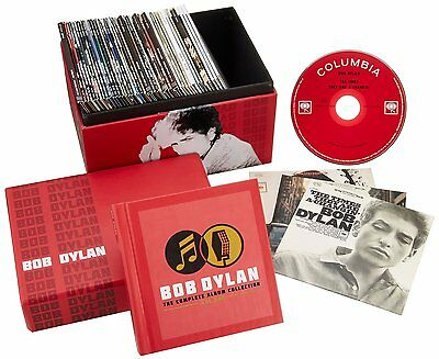 BOB DYLAN - The Complete Album Collection box set 47 cd nueva a estrenar