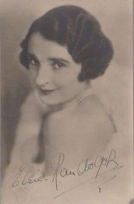 """Hitchcock - Frenzy & Rich and Strange - ELSIE RANDOLPH-""""-Signed Vintage pic"""