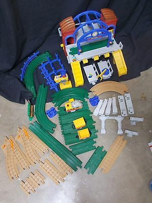 Fisher Price Geotrax Grand Central Station Lot