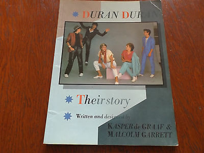 Duran Duran :their Story : 1983 Photo Book  :  Hand Signed By All