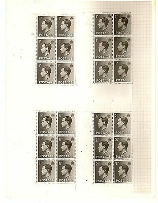 GB EDVIII P.O. Negative for Definitive Issue