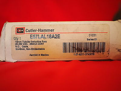 Cutler-Hammer E57Lal18A2E *new* Proximity Limit Switch