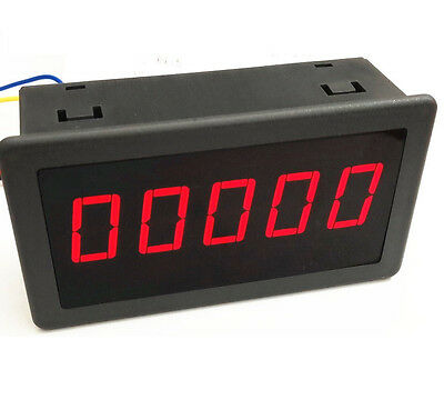 """1PCS DC 5V 0.56"""" Red LED Digital Counter Meter Count Timer Timing Three Function"""
