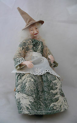 Dolls House Miniature Sleepy Witch 1-12TH Scale