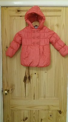 Marks and spencer girls coat Age 2-3 Years.