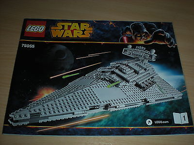 Lego Instruction Manual - (75055) Star Wars - Imperial Star Destroyer *New*
