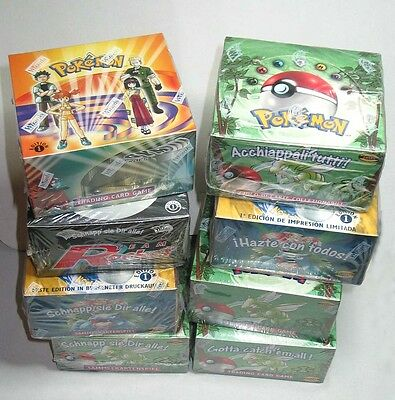 WOTC POKEMON BOX NEW SEALED : JUNGLE UNLIMITED ITALIAN 36 Booster Packs!