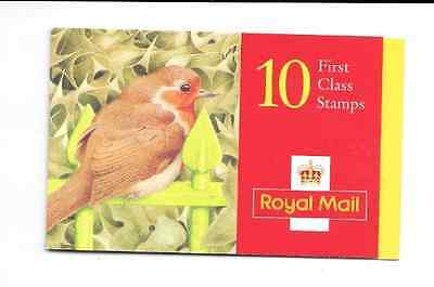 GB 1995 Christmas 1st Class Stamps Barcode Booklet - LX 9