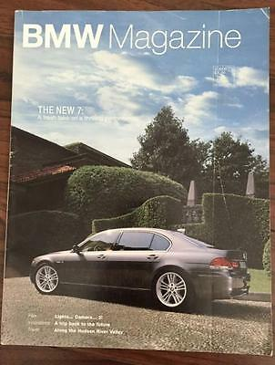 2005 Mar BMW Magazine - Feature New 7 Series -  USA fast ship