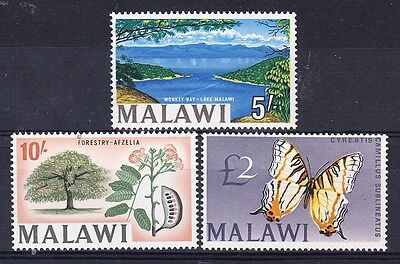 Malawi Scott 49-51 Mint NH (Catalog Value $57.00)