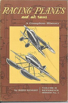 RACING PLANES and  AIR RACES  -  A COMPETE HISTORY  - VOLUME 11