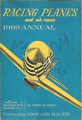 RACING PLANES and  AIR RACES  -  1969  ANNUAL