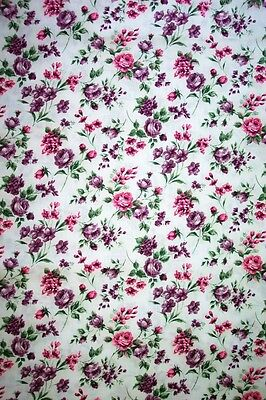 Tiny Lavender Roses-- Padded Cover For 15X55 Ironing Board