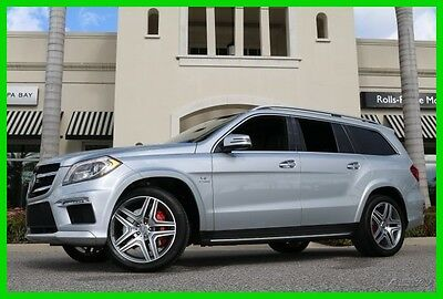 2015 Mercedes-Benz GL-Class GL63 AMG® 2015 GL63 AMG Used Turbo 5.5L V8 32V Automatic 4MATIC SUV Premium Moonroof