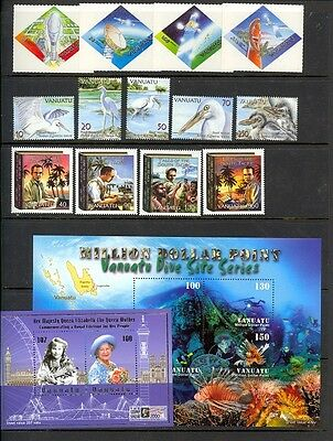 Vanuatu - small NH collection from the 2000's