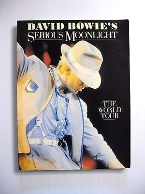 1984 David Bowie's Serious Moonlight  The World Tour (First Edition, Softcover)