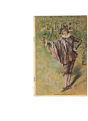 Vintage Theatre Program 1926 - Arthur Dillingham's Globe Theatre - Broadway NYC